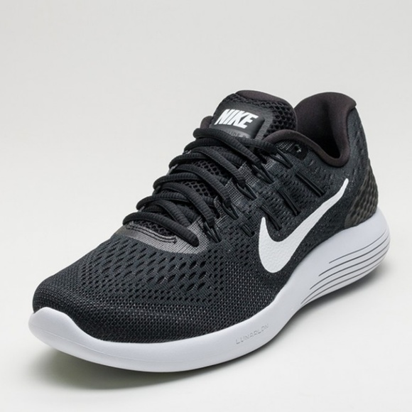 new style bef9f 45c08 NEW in Box NIKE Lunarglide 8 Black White LAST 1